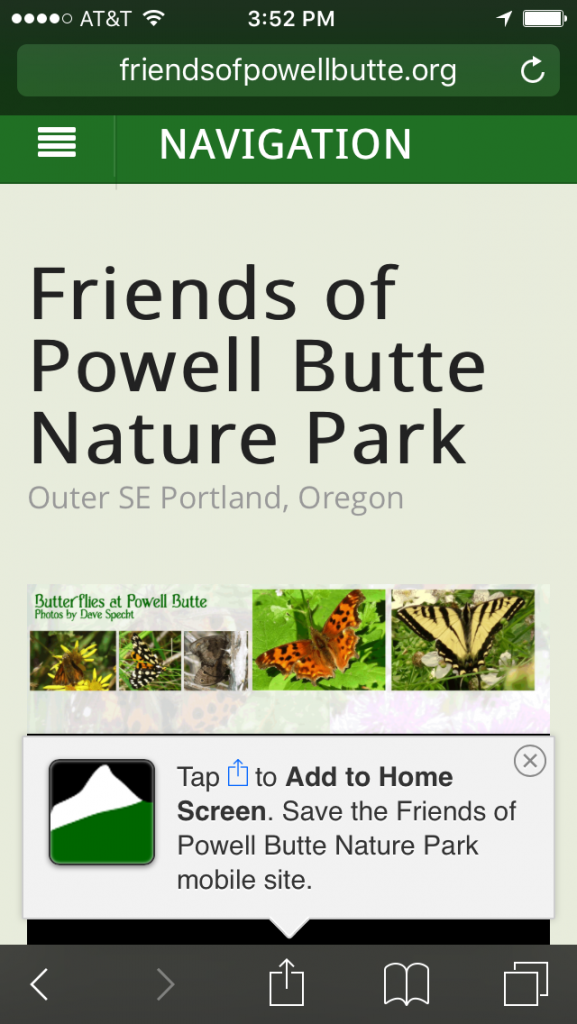 Friends of Powell Butte Nature Park Icon download mobile site